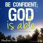 Be-confident-God-is-able.